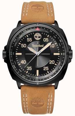 Timberland Bracelet cuir et cadran noir TBL.15516JSB/02