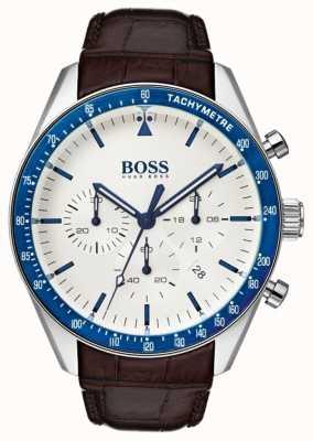 Boss Trophée homme cadran blanc 1513629