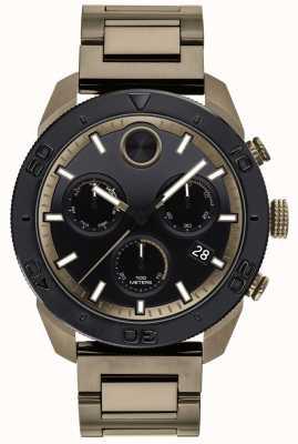 Movado Bracelet chronographe de sport à bracelet ip-bold pour homme 3600513