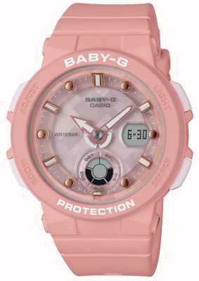 Casio Baby-g rose sangle beach traveller BGA-250-4AER