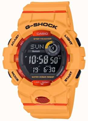 Casio G-squad orange tracker bluetooth digital tracker GBD-800-4ER