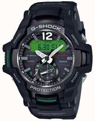 Casio G-shock gravitymaster bluetooth solaire noir / caoutchouc vert GR-B100-1A3ER