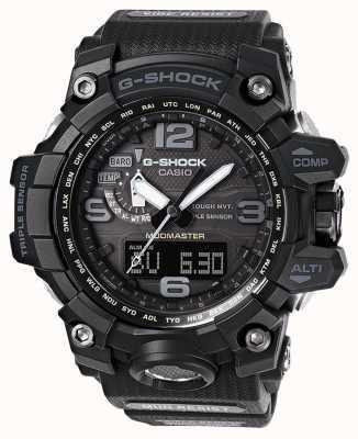 Casio G-shock premium mudmaster radiocommandé bracelet noir GWG-1000-1A1ER