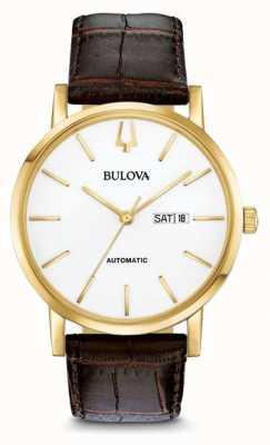 Bulova Tondeuse américaine automatique or pvdwatch 97C107