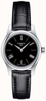 Tissot Cadran en cuir noir de la tradition féminine 5.5 cadran noir T0630091605800