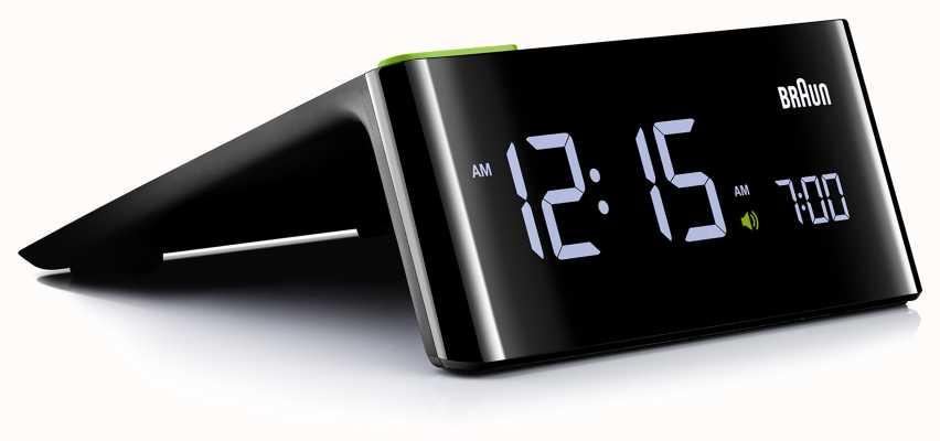 Braun Réveil numérique de chevet   affichage LCD BNC016BKUK