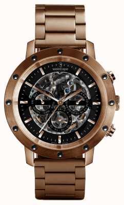 Weird Ape Bracelet Icarus 3 cadran en or rose / or rose WA02-005712