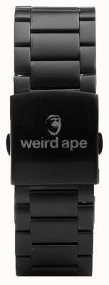 Weird Ape Bracelet lien noir 20mm ST01-000002