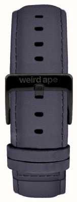Weird Ape Daim bleu violet 20mm sangle boucle noire ST01-000079