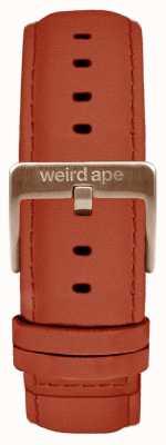 Weird Ape Bracelet en daim rouille de 20 mm seulement avec boucle en or rose ST01-000094