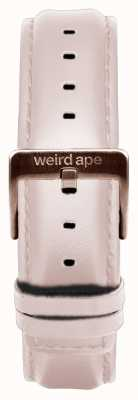 Weird Ape Bracelet en cuir nude 16mm boucle en or rose ST01-000034