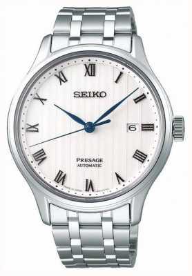 Seiko Bracelet en acier inoxydable pour cadran blanc SRPC79J1