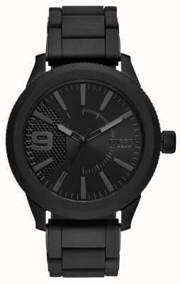 Diesel Bracelet tout métal avec montre en métal noir DZ1873