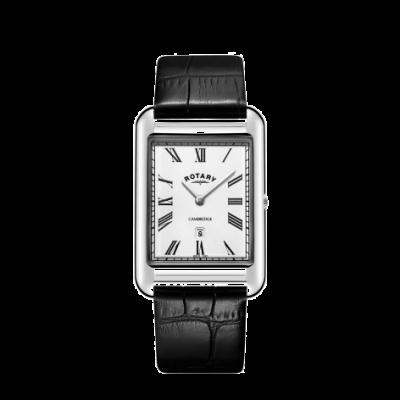 Rotary Montre homme cambridge avec bracelet en cuir noir GS05280/01