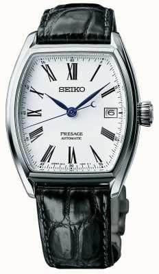 Seiko Montre homme automatique à cadran noir SPB049J1