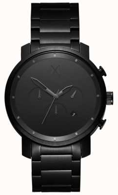 MVMT Chrono maillon noir 45 mm | pvd noir | cadran noir D-MC01BB