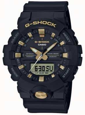 Casio G-shock analogique analogique numérique multifonction noir mat GA-810B-1A9ER