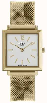Henry London Maille carrée en or HL26-QM-0266