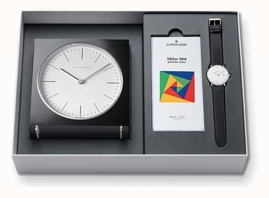 Junghans Max bill clock & watch set édition limitée 2018 363/2816.00