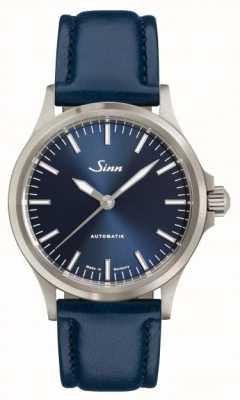 Sinn Bracelet en cuir de vachette bleu 556 ib 556.0104 BLUE COWHIDE STRAP