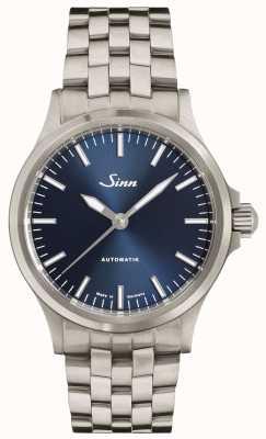 Sinn Bracelet à maillons fins avec cadran bleu 556 ib 556.0104 FINE BRACELET