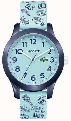 Lacoste 12.12 bracelet et cadran turquoise pour enfants 2030013