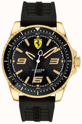 Scuderia Ferrari Bracelet en caoutchouc plaqué or pour homme xx kers 0830485
