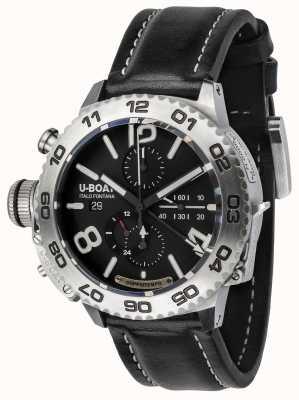 U-Boat Classico doppiotempo 46 chronographe en acier inoxydable 9016