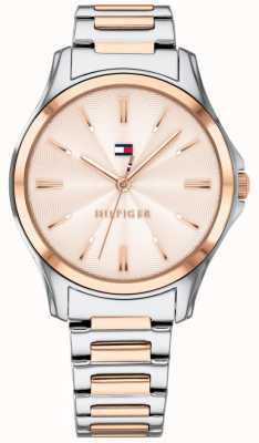 Tommy Hilfiger Cadran Femme en or rose plaqué or rose 1781952