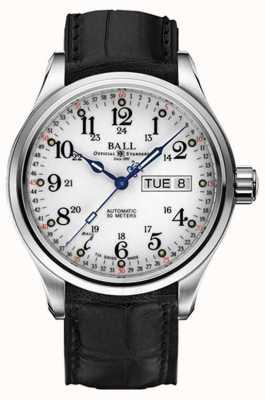 Ball Watch Company Trainmaster 60 secondes affichage jour et date automatique NM1058D-LL3FJ-WH