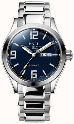 Ball Watch Company Ingénieur iii légende affichage automatique du jour et de la date du cadran bleu NM2028C-S14A-BEGR