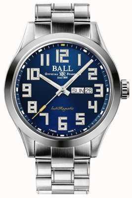 Ball Watch Company Ingénieur iii starlight cadran bleu en acier inoxydable édition limitée NM2182C-S9-BE3