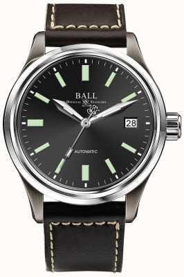 Ball Watch Company Affichage automatique de la date du cadran noir NM1038D-L5J-BK
