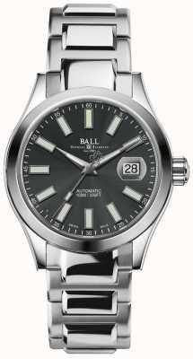 Ball Watch Company Ingénieur ii marvelight automatique affichage de la date de cadran gris NM2026C-S6-GY