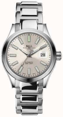 Ball Watch Company Engineer ii Marvelight affichage automatique de la date du cadran champagne NM2026C-S6-SL