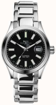 Ball Watch Company Ingénieur ii marvelight automatique affichage de la date de cadran noir NM2026C-S6J-BK