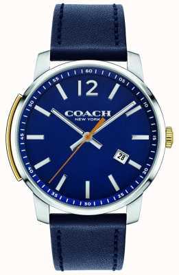Coach Montre multifonction homme bleu 14602343