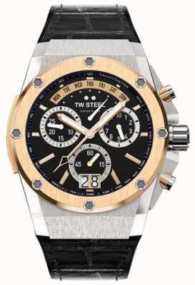 TW Steel Ace genesis édition limitée mens ace 103 chronographe noir ACE103