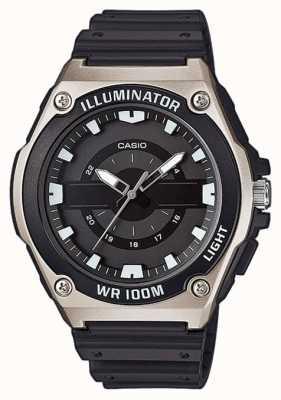 Casio Montre homme en résine noire MWC-100H-1AVEF