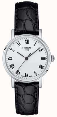 Tissot Cadran en cuir noir classique pour femme T1092101603300