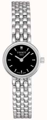 Tissot Cadran noir en acier inoxydable pour femme T0580091105100