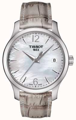 Tissot Bracelet en nacre grise de tradition féminine T0632101711700