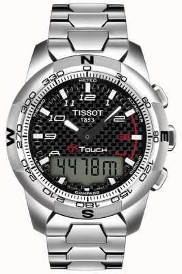 Tissot Chronographe pour homme t-touch ii titane T0474204420700