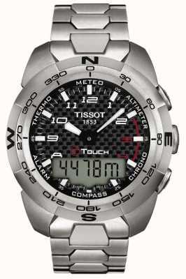 Tissot Chronographe d'alarme homme titane t-touch expert T0134204420200