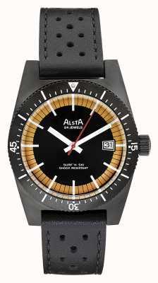 Alsta Surf n ski édition limitée pvd plaqué noir cuir noir SURF N SKI