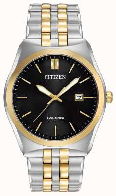 Citizen Eco-drive corso wr100 | cadran noir | bracelet en acier inoxydable | BM7334-58E