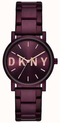 DKNY Bracelet plaqué violet pour femme NY2766