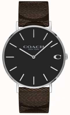 Coach Montre femme cadran rose clair rose 1402156