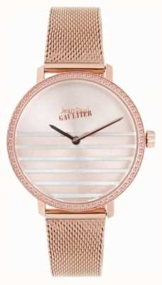 Jean Paul Gaultier Montre femme en or rose avec bracelet en or rose JP8505601