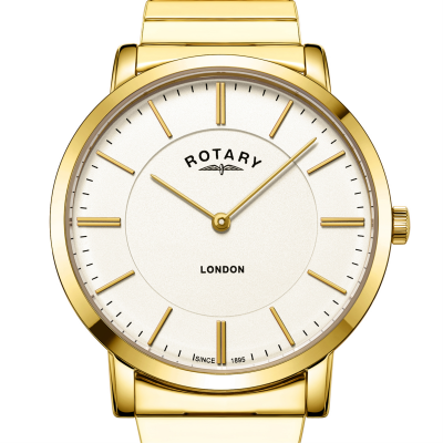 Rotary Montre bracelet en acier inoxydable avec bracelet en acier inoxydable GB02766/03